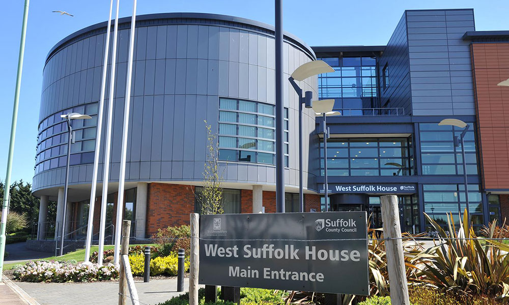West Suffolk Council Building